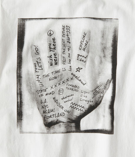 Palm Of Your Hand Graphic Tee