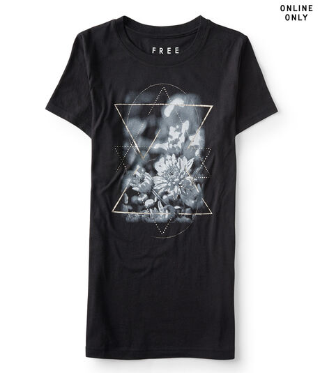 Free State Floral Star Graphic Tee***