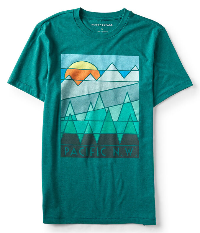 Pacific NW Graphic Tee***