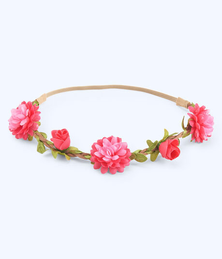 Faux Flower Headband