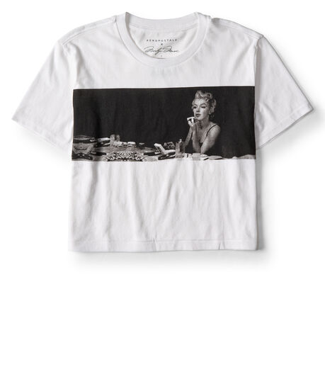 Girls' Marilyn Monroe Boyfriend Graphic Tee