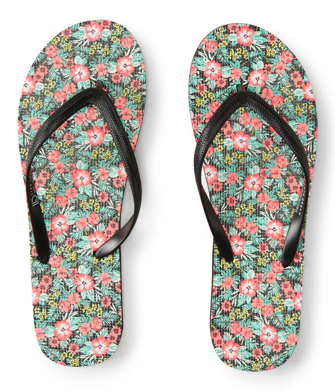 LLD Hibiscus Floral Flip-Flop