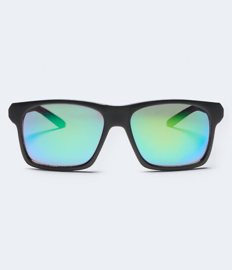 Colored Lens D-Frame Sunglasses