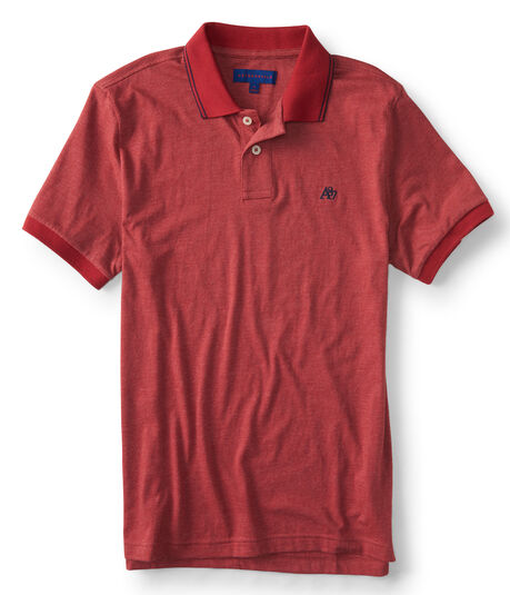 A87 Solid Tipped Jersey Polo