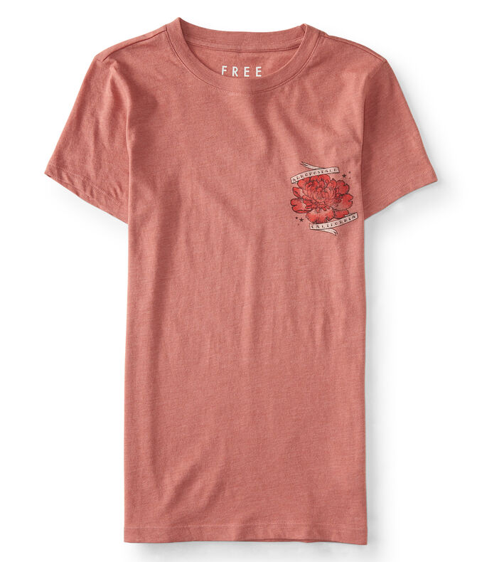 Free State Rose Tattoo Graphic Tee