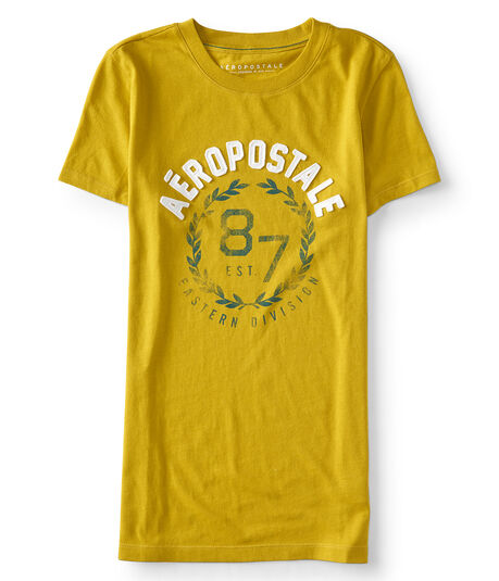Aeropostale Laurel Wreath Graphic Tee