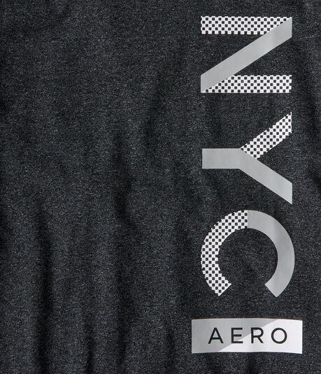 Vertical NYC Aero Stretch Graphic Tee
