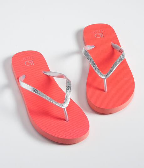 LLD Crackled Solid Flip-Flop