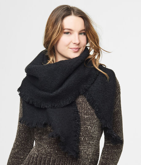 Solid Blanket Scarf