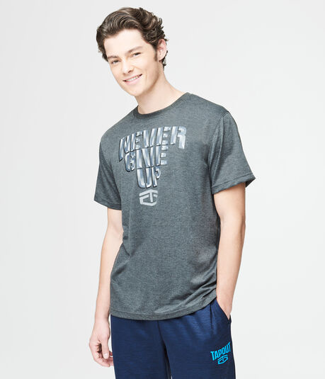 Final Sale- Tapout Never Give Up Graphic T