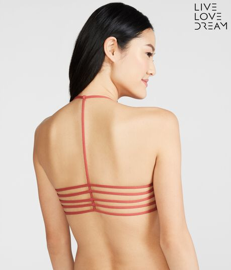 LLD Seamless Strappy T-Back Bralette