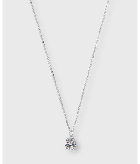 Rhinestone Short-Strand Necklace