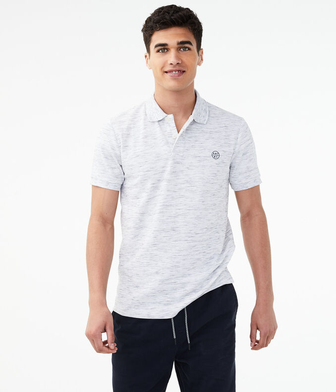 A87 Ny Streaky Stretch Pique Polo by Aeropostale