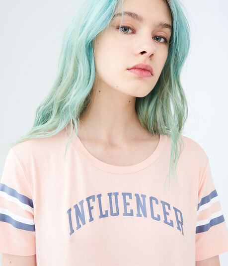 Influencer Football Graphic Tee