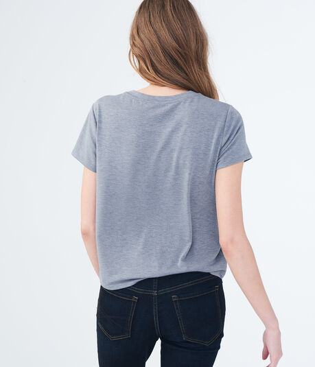 Seriously Soft Embellished Star Girl Tee