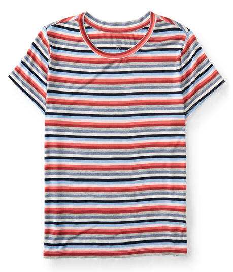 Prince & Fox Striped Marine Tee
