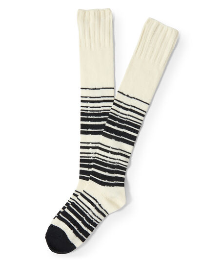 Striped Over-The-Knee Socks