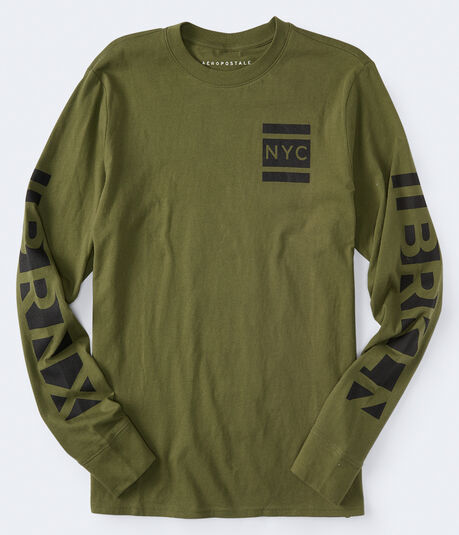 Long Sleeve NYC 212 Graphic Tee