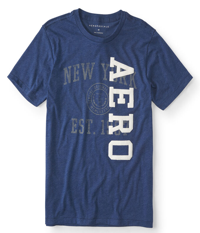 Aero Vertical Logo Graphic Tee