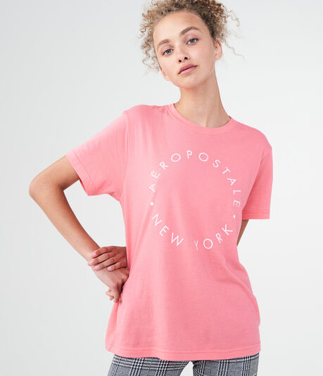 Aeropostale Circle Graphic Boy Tee