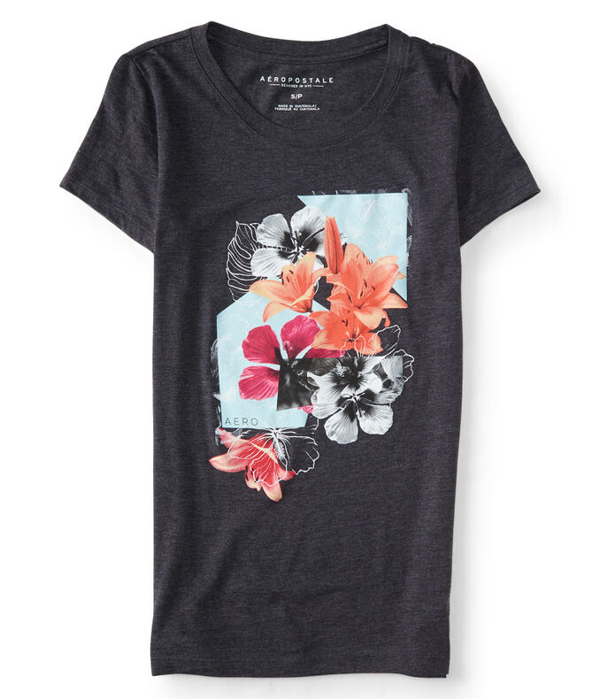 Floral Burst Graphic T