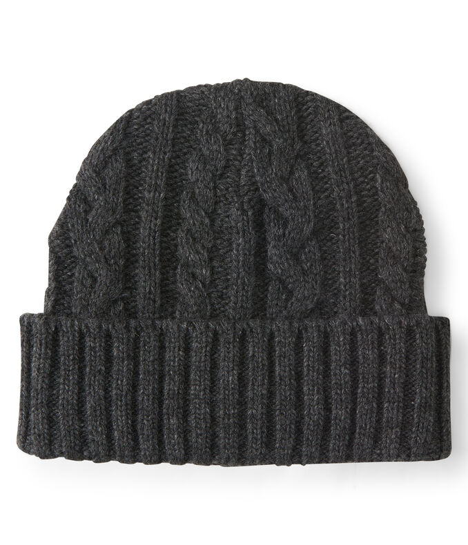 Cable Turnback Beanie