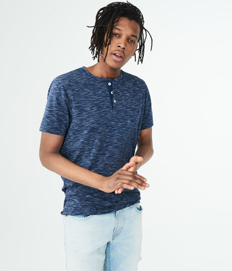 Streaky Stretch Henley