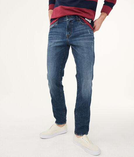 Slim Medium Wash Stretch Jean