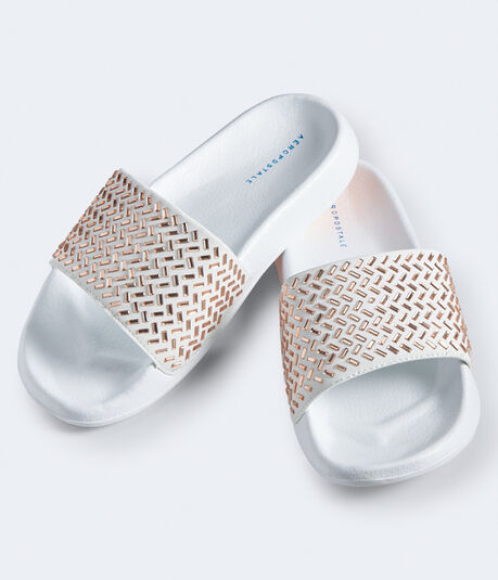 Bejeweled Slide Sandal