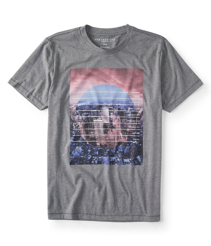 NYC Neighborhood Graphic Tee