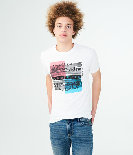 Los Angeles City Square Graphic Tee