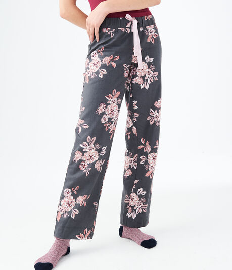 LLD Floral Flannel Sleep Pants