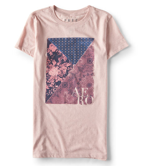Free State Patchwork Graphic Tee