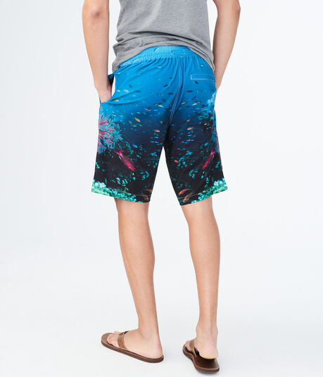 Coral Reef Stretch Boardshorts