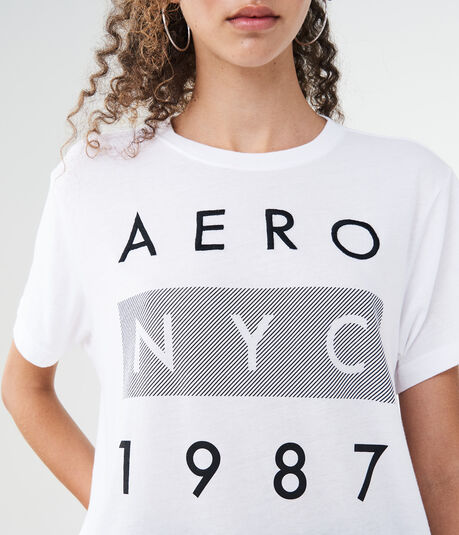 Aero NYC 1987 Graphic Boy Tee