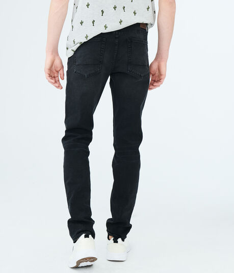 Flex Effects Super Skinny Black Wash Jean