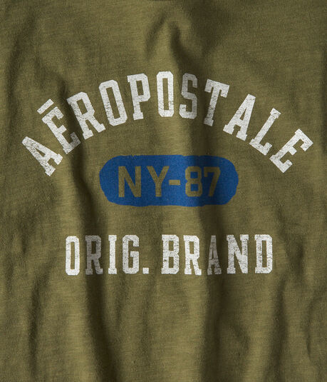 Aeropostale Arch Brand Graphic Tee
