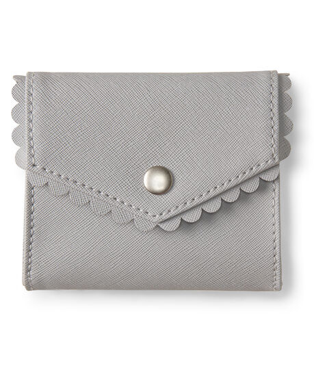 Scalloped Card Holder