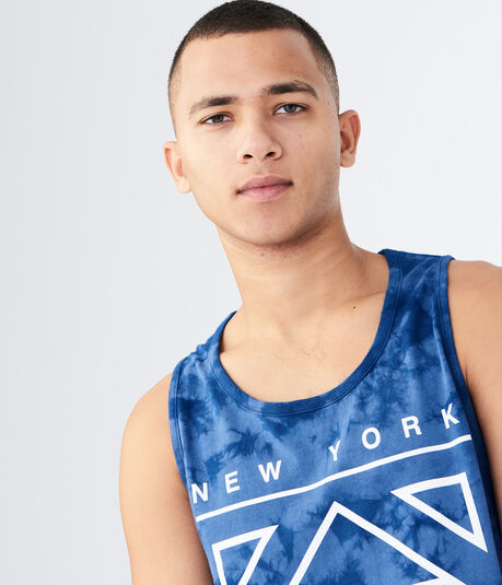 Diamond Flag Tie-Dye Tank