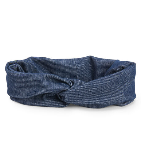 Denim Twist Headband