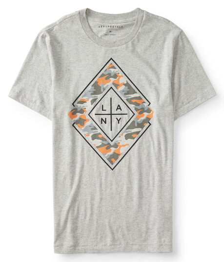 LA NY Camo Diamond Graphic Tee