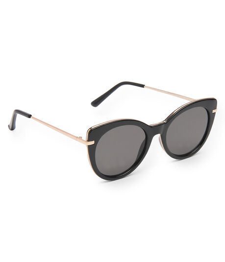 Solid Cateye Sunglasses