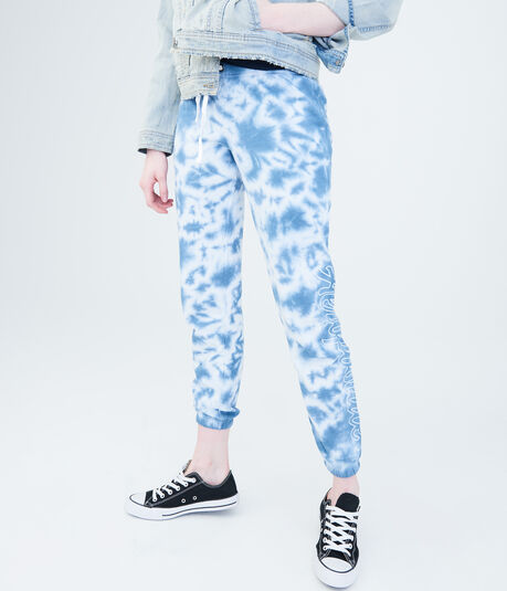 Aeropostale Tie-Dye Classic Cinch Sweatpants