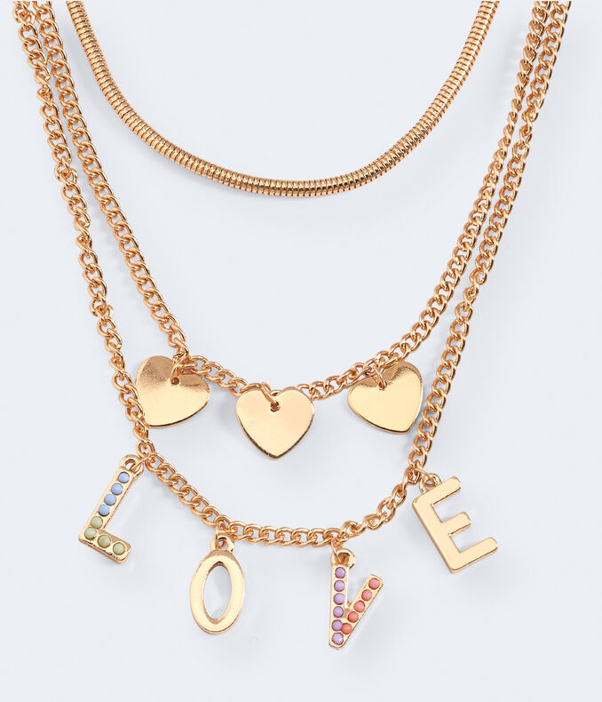 Love Layering Necklace 3-Pack