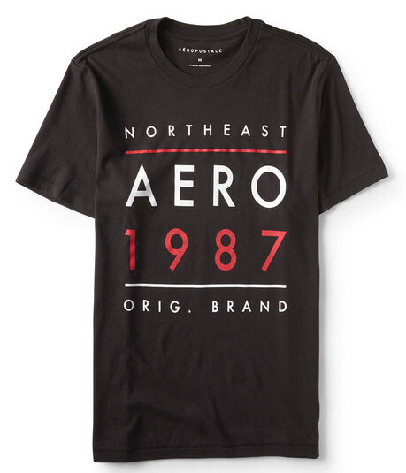 Northeast Aero Logo Graphic Tee