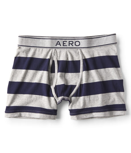 Rugby Stripe Knit Boxer Briefs