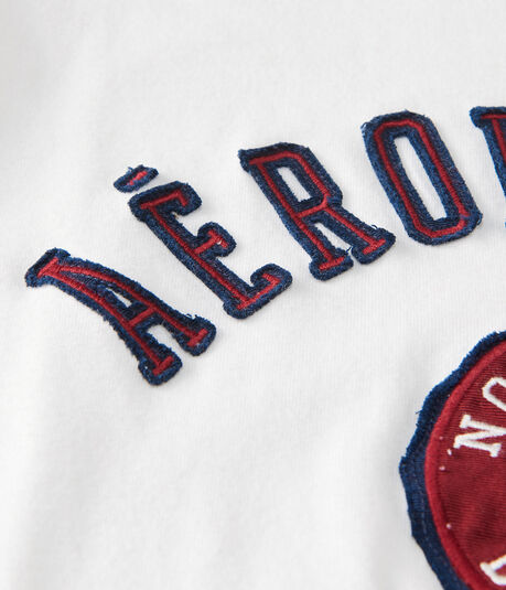 Aeropostale New York Crest Logo Graphic Tee