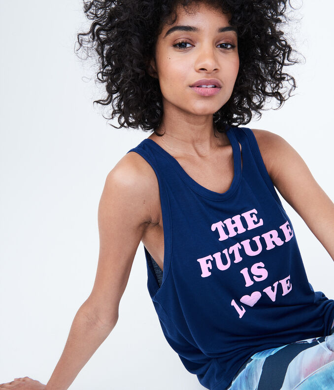 LLD Future Love Slashed Muscle Tank
