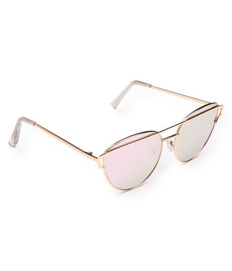 Geo Mirrored Sunglasses