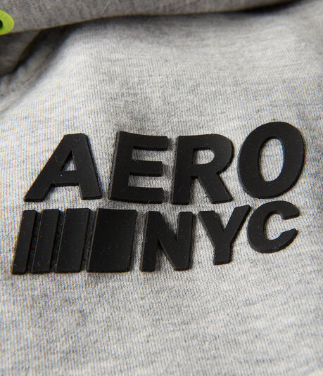 Aero NYC Sleeveless Full-Zip Hoodie